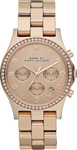 Marc Jacobs Ladies Henry Chrono with Glitz Watch