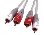 D&S Audio Cable 2x RCA male - 2x RCA male 5m (A3016-07)