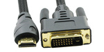 OEM Cable DVI-D male - HDMI male 1.8m