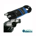 Accu-Cable Microphone Cable XLR male - XLR female 15m (AC-PRO-XMXF/15)