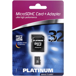 BestMedia microSDHC 32GB Class 4 with Adapter