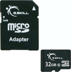 G.Skill microSDHC 32GB Class 10 with Adapter