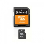 Intenso microSDHC 16GB Class 4 with Adapter