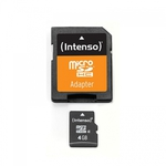 Intenso microSDHC 4GB Class 4 with Adapter