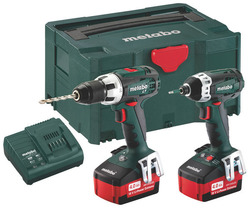 Metabo Combo Set 211 (BS18LT + SSD18LT)