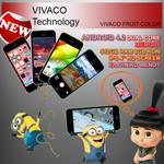 "Vivaco Fruit Color 4"" (8GB)"
