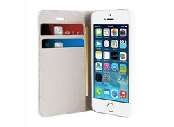 Puro Wallet Case White (iPhone 5/5s/SE)