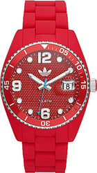 Adidas Analogue Red Rubber Strap ADH6160