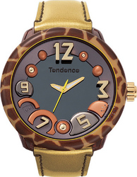 Tendence Animal Silver Leather Strap TGF37204