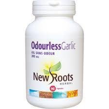 New Roots Odourless Garlic 90 tabs
