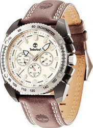 Timberland Bennington Multifunction Brown Leather Strap 13901JSBS-07