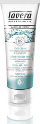 Lavera Basis Sensitiv Foot Cream with Organic Macadamia & Healing Clay 75ml