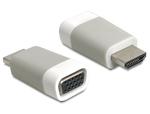 DeLock HDMI male - VGA female (65472)
