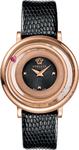 Versace Venus Lady Black Leather Strap VFH030013