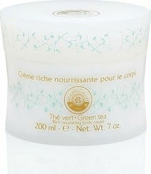 Roger & Gallet Green Tea Rich Nourishing Body Cream Pot 200ml