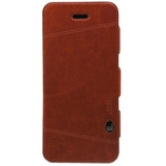 Stoneage Flip Leather Guardian Brown (iPhone 5/5s/SE)