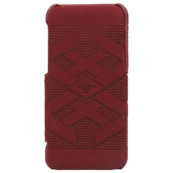 Stoneage Flip Leather Civilization Road Burgundy (iPhone 5C)