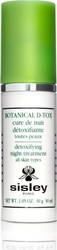 Sisley Paris Botanical D-Tox Detoxifying Night Treatment 30ml