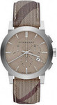 Burberry The City Brown Leather Strap BU9361
