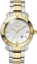 Vogue Grace Crystals Two Tone Stainless Steel Bracelet 77006.2