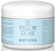 Yellow Rose Body Scrub Pot 250ml