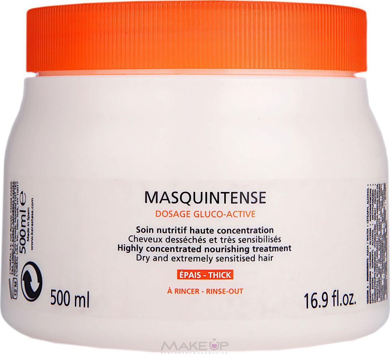 Προσθήκη στα αγαπημένα menu Kerastase Nutritive Masquintense Mask For Thick  Hair 500ml f58abf40290