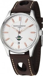 Frederique Constant Healey Automatic Limited Edition Brown Leather Strap FC-303HV5B6