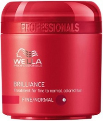 Wella Professionals Brilliance Treatment for Fine/Normal Colored Hair 150ml