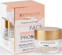 Byphasse Anti-aging Cream Pro50 Years Skin Tightening SPF8 50ml