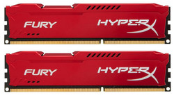 HyperX Fury Red 8GB DDR3-1866MHz (HX318C10FRK2/8)