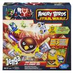 Hasbro Angry Birds Star Wars Jenga Jedi Battle Game