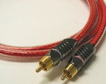 Straight Wire Audio Cable 2x RCA male - 2x RCA male 1m (CONX A10)