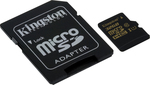 Kingston microSDHC 32GB U1 with Adapter (90MB/s)
