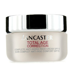 Lancaster Total Age Correction Complete Anti-Aging Rich Day Cream SPF15 50ml