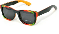White Shark Wood Wood Wayfarer WS022 C03