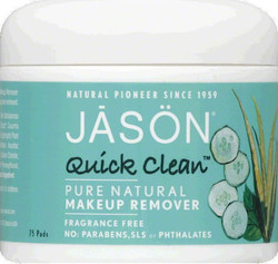 Jason Quick Clean MakeUp Remover Pads 75τμχ
