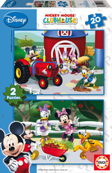Mickey Mouse Club House 2X20 Educa