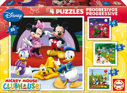 Progressive Mickey Mouse Club House 12+16+20+25 Educa