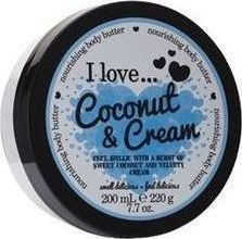 I Love Cosmetics Coconut and Cream Nourishing Body Butter 200ml