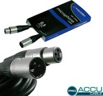 Accu-Cable Microphone Cable XLR male - XLR female 1m (AC-PRO-XMXF/0.5)