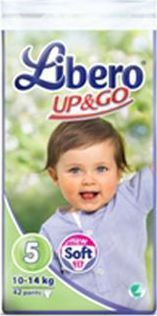 Libero Up & Go No 5 (10-14Kg) 42τμχ