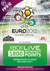 Microsoft Xbox Live 1800 Points for UEFA Euro 2012
