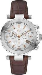 Guess Collection Chronograph Brown Leather Strap X58005G1S