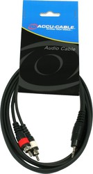 American Audio Cable 3.5mm male - 2x RCA male 1.5m (AC-J3S-2RM/1.5)