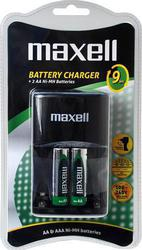 Maxell Ni-MH Rechargeable Battery - 9 Hour Charger
