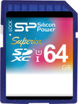 Silicon Power Superior SDXC 64GB U1