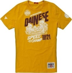 T-Shirt Dainese Speed Champ Giallo