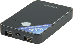 Konig Portable USB Power Bank 7000mAh (KN-PBANK7000)