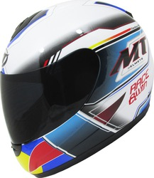 MT Thunder Kids Race & Win Pearl White/Blue
