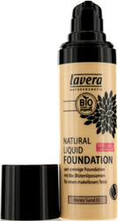 Lavera Natural Liquid Foundation 10H Long Lasting Honey Sand 30ml